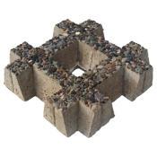 Adocésped 31 x 31 x 8 cm Piedra Maipo