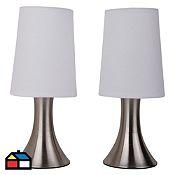 set x lmparas de mesa luz