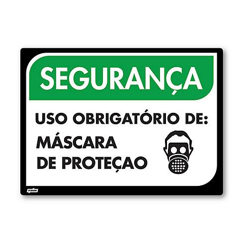 3ae76cb820df4 Sinal PVC Máscara de Proteção - Sodimac
