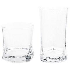 Set de vasos vidrio 12 unidades