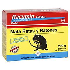 Raticida en pasta 200 gr