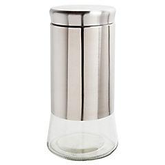 Especiero Acero/Vidrio 24  cm 1400 ml