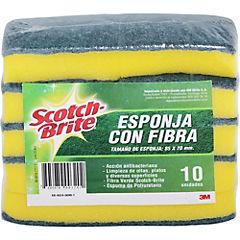 Set de esponjas multiuso 10 unidades
