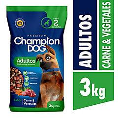 Alimento para perro adulto 3 kilos