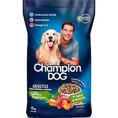 Alimento perro adulto 15kg pollo-vegetales