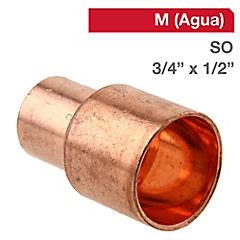 Coplas SO-SO cobre 3/4x1/2