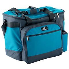 Nevera soft con accesorios para picnic 6 litros azul