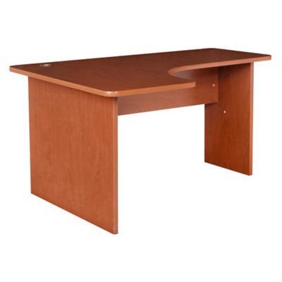 Escritorio izquierdo 110x150cm cedro for Sillas de escritorio sodimac