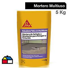 Saco 5 kg Sikalisto Mix A Multiuso, Mortero de sellado y nivelación
