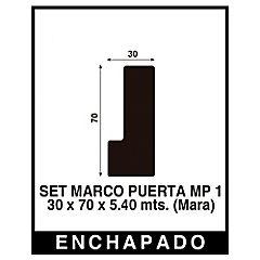 Set Marco Puerta  3 x 7 cm x 5.4 m.