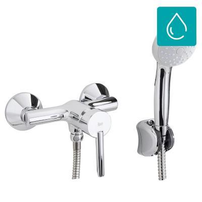 Monomando para ducha con recept culo for Llaves para duchas sodimac