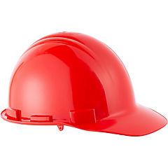 Casco de seguridad con roller rojo
