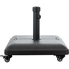 Base para quitasol concreto 46 cm negro