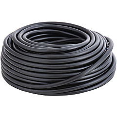 Cordón HO5VV-F 2X0.75mm negro 20m