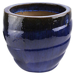 Macetero de cerámica 62x51 cm Azul