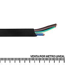 Cordón 3x0,5 mm 300 m Negro