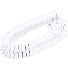 Cable Espiral blanco 3mts.