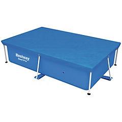 Cobertor para piscina rectangular 2.39x1.50 mt
