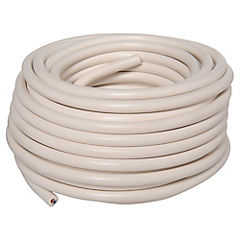 Cordón 3x1 mm 20 m metro lineal Blanco