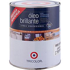 Óleo Profesional Brillante 1/4 galón Café Moro