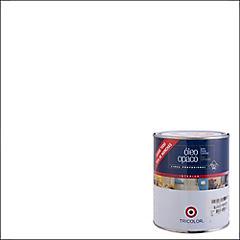 Óleo Profesional Opaco 1/4 galón Blanco
