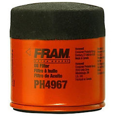 Filtro aceite PH4967, Fram