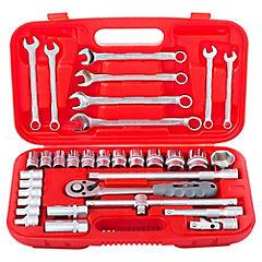 Set de herramientas mecánicas 33 piezas