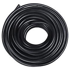 Cordón 3x1,50 mm 20 m metro lineal Negro