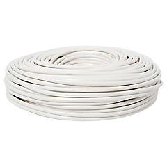 Cordón HO5VV-F 3X1,50mm blanco 100m
