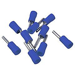 Terminal punta 10 unidades Azul