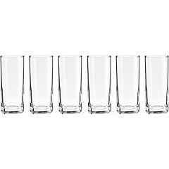 Set de vasos vidrio Tequila 6 unidades