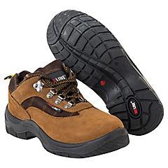 Zapato de seguridad Athenas café