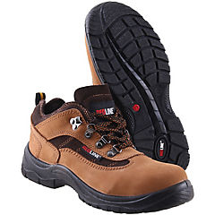Zapato de seguridad Athenas café 40