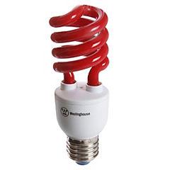Ampolleta ahorro 13 Watts Luz Rojo Espiral