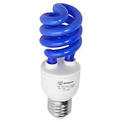Ampolleta ahorro 13 Watts Luz Azul Espiral
