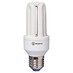 Ampolleta ahorro 11 Watts Luz fría Micro-Tubular