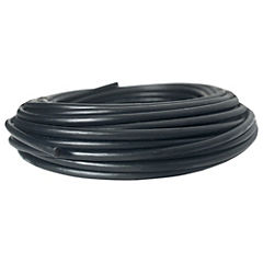 Cable coaxial RG6 negro 20 m