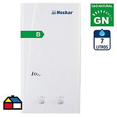Calefón a gas natural 7 litros tiro natural