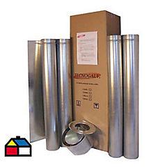 Kit 100 4 pulgadas 0.8mm para cocinas a leña