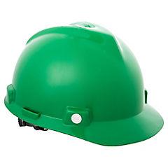 Casco de seguridad V-Gard verde