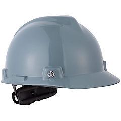 Casco de seguridad gris