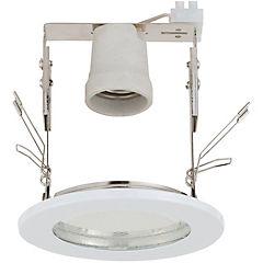 Foco Circular Fijo 1 luz Blanco IP54