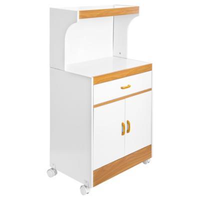 Mueble base para microondas 113x61x39 cm melamina for Colgar microondas cocina
