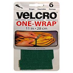 Velcro tira 6 unidades verde