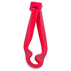 Velcro tira 6 unidades rojo