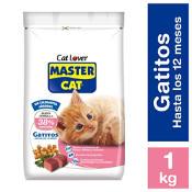 Alimento seco gatitos rellenos con leche 1 kilo