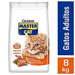Alimento seco gatos adultos sabor salmón 8 kilos