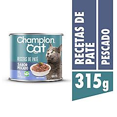 Alimento húmedo para gatos lata pescado 315 gramos