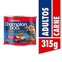 Alimento húmedo para perro carne lata 315 gramos