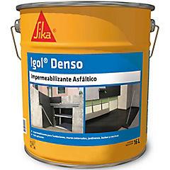 16 litros Pintura Asfáltica Impermeable Igol Denso
